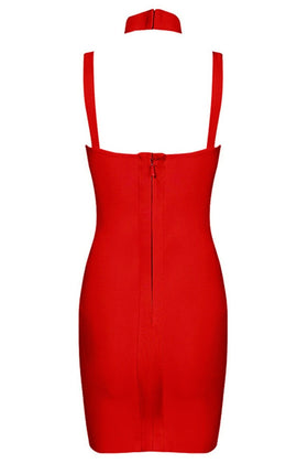Honey Couture MICHAELA Red Bustier Bandage DressHoney CoutureOne Honey Boutique AfterPay OxiPay ZipPay
