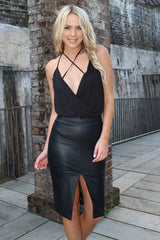 Bodysuit - Want It Now Bodysuit In Black
