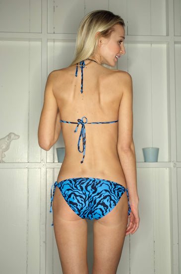 Bikini Thief LUCY VINCENT Blue Print Bikini SetBikini ThiefOne Honey Boutique AfterPay OxiPay ZipPay