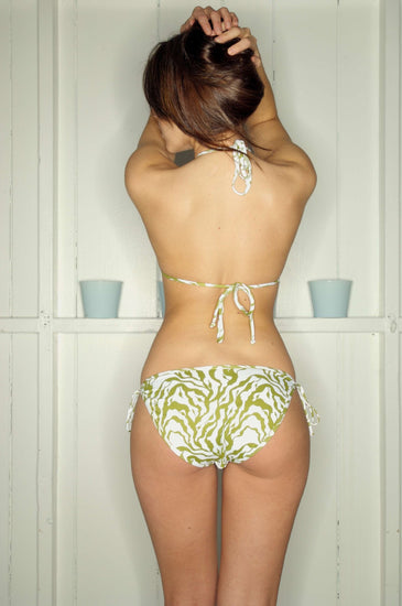 Bikini Thief LUCY VINCENT Green Print Bikini SetBikini ThiefOne Honey Boutique AfterPay OxiPay ZipPay