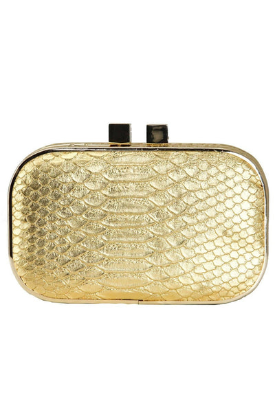 Party At The Ivy Gold Clutch