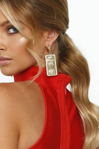 Fine GOLD 999.9 Earrings