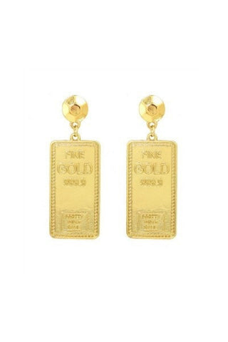 Earrings - Fine GOLD 999.9 Earrings