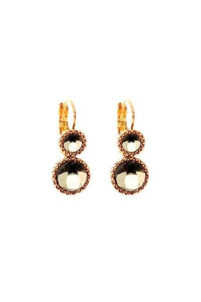 House of Harlow 1960 Rose Gold Olbers Paradox Drop Earrings