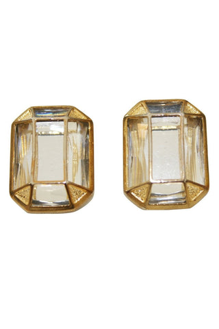 Earrings - Kardashian Kollection Stone Art Deco Stud Earrings