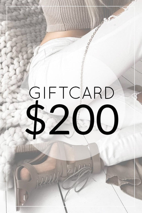 One Honey Boutique $200.00 Gift Card One Honey Boutique One Honey Boutique AfterPay ZipPay OxiPay Laybuy Sezzle Free Shipping