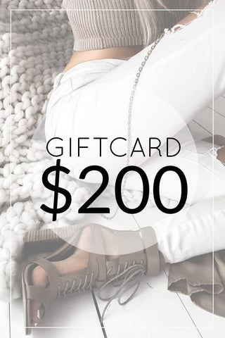 One Honey Boutique $200.00 Gift Card