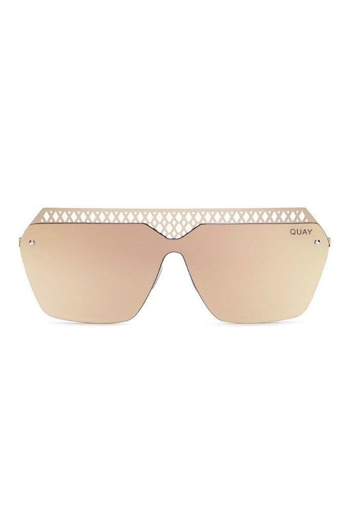 Quay Australia HALL OF FAME Rose Pink Designer Sunglasses Australian Online Store One Honey Boutique AfterPay ZipPay