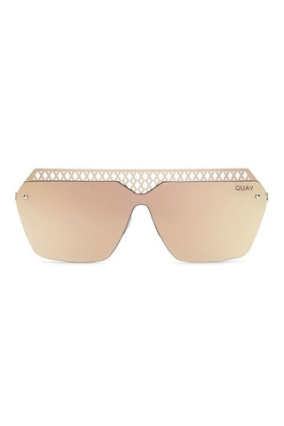 Quay Australia HALL OF FAME Rose Pink Designer Sunglasses