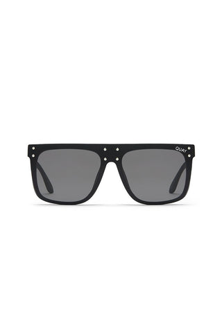 Quay Australia x Kylie Jenner HIDDEN HILLS Black Smoke Designer Sunglasses QUAY Australia One Honey Boutique AfterPay ZipPay OxiPay Sezzle Free Shipping