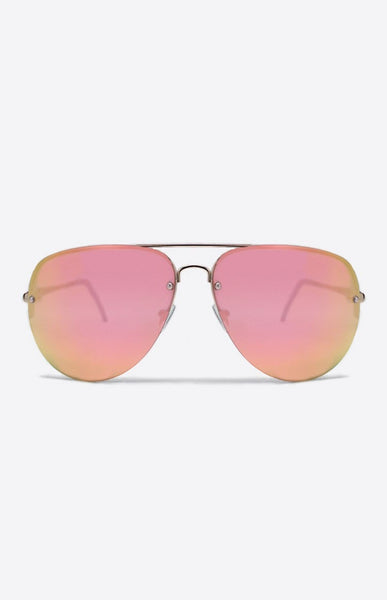 Quay Australia x Amanda Steele MUSE Gold & Pink Designer Sunglasses Australian Online Store One Honey Boutique AfterPay ZipPay