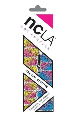 "Nail Wraps - NCLA Nail Wrap ""BEEN AROUND THE WORLD"" Melody Ehsani Limited Edition"