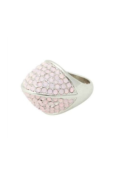 Ring - Belle Noel By Kim Kardashian Vintage Glamour Pave Ring In Opal