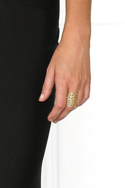 Ring - Bowie Accessories The Moment Ring In Gold