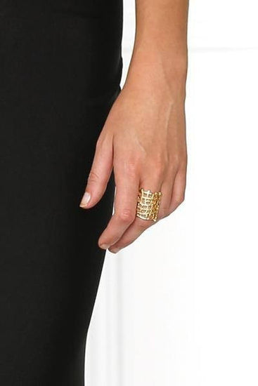 Bowie Accessories The Moment Ring in GoldBowie AccessoriesOne Honey Boutique AfterPay OxiPay ZipPay