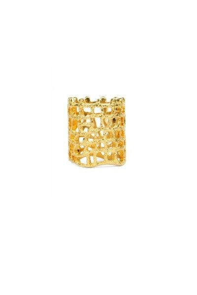 Bowie Accessories The Moment Ring in Gold Bowie Accessories$ AfterPay Humm ZipPay LayBuy Sezzle
