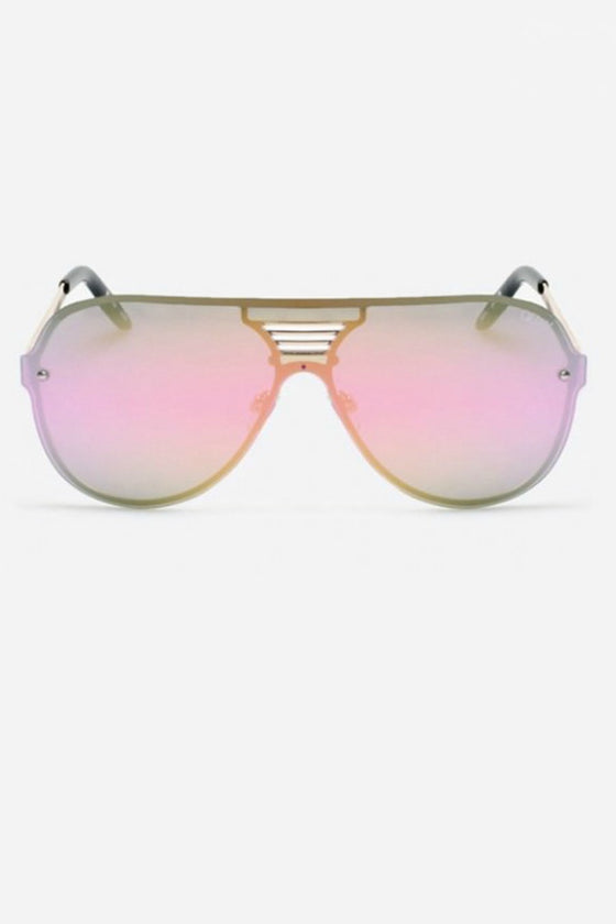 Quay Australia SHOWTIME Black Pink Designer Sunglasses QUAY Australia One Honey Boutique AfterPay ZipPay OxiPay Laybuy Sezzle Free Shipping