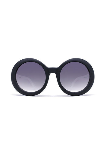 Sunglasses - Quay Australia OUTSIDE SQUAD Black Round Designer Sunglasses