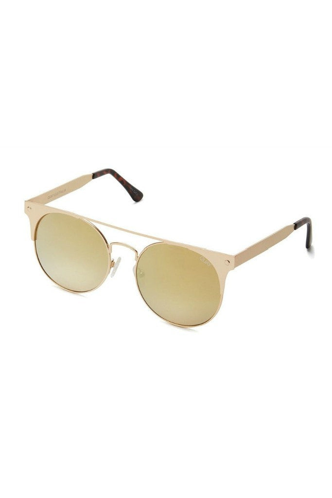Quay Australia THE IN CROWD Gold Mirror Designer Sunglasses Australian Online Store One Honey Boutique AfterPay ZipPay