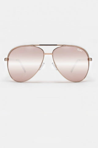 Quay Australia VIVIENNE Rose Gold Designer Sunglasses Australian Online Store One Honey Boutique AfterPay ZipPay