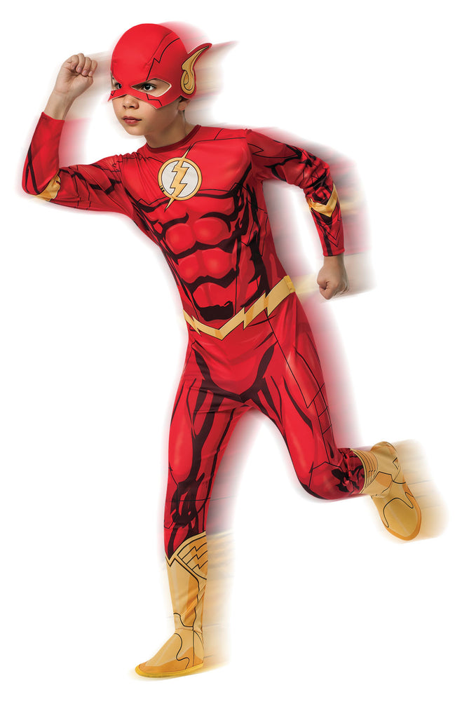 THE FLASH CLASSIC COSTUME, CHILD - SIZE M