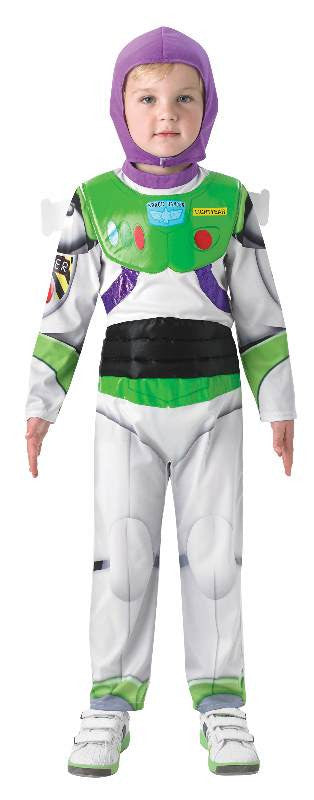 BUZZ TOY STORY COSTUME, CHILD- SIZE 3-5