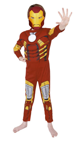 IRON MAN DELUXE - SIZE 6-8