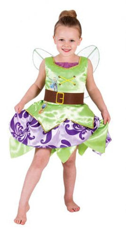 TINKER BELL PIRATE DELUXE CHILD COSTUME - SIZE 4-6