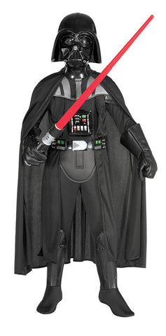 DARTH VADER DELUXE COSTUME, CHILD - SIZE S