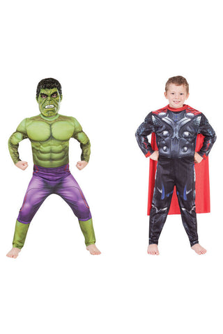 THOR TO HULK DELUXE REVERSIBLE - SIZE 4-6