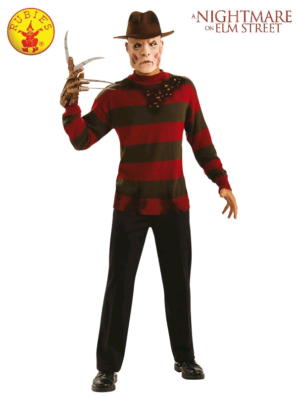 FREDDY KRUEGER 80S GLOVE, ADULT