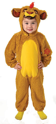 KION FURRY LION COSTUME, CHILD - SIZE S