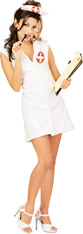 CLASSIC NURSE SEXY COSTUME, ADULT - SIZE S