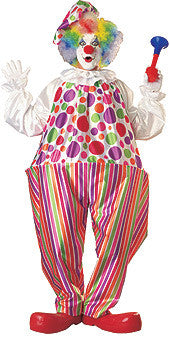 SNAZZY CLOWN COSTUME, ADULT - SIZE STD