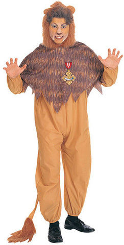 COWARDLY LION ADULT - SIZE STD
