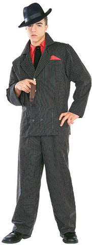 GANGSTER 1920s COSTUME, ADULT - SIZE XL