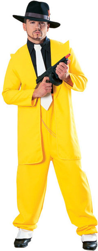 YELLOW ZOOT SUIT - SIZE XL