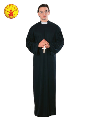 PRIEST COSTUME, ADULT - VARIOUS SIZES