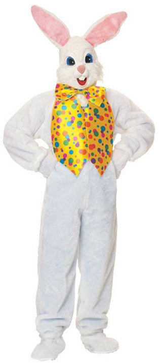 BUNNY DELUXE EASTER COSTUME, ADULT - SIZE STD