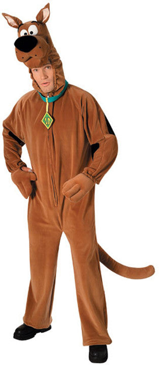 SCOOBY DOO ADULT DELUXE COSTUME, ADULT - SIZE STD