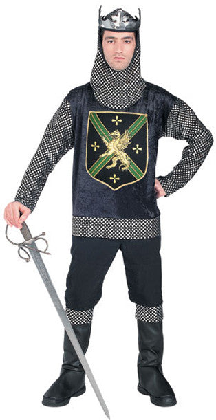 MEDIEVAL WARRIOR KING COSTUME, ADULT - SIZE STD