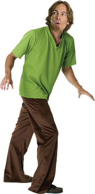 SHAGGY SCOOBY DOO COSTUME, ADULT - SIZE STD