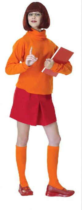 VELMA SCOOBY DOO COSTUME, ADULT - SIZE STD