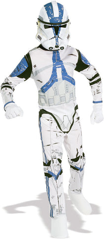 CLONE TROOPER JUMPSUIT COSTUME, ADULT - SIZE STD