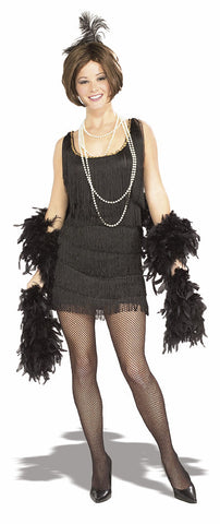 CHICAGO FLAPPER 1920S COSTUME, ADULT - SIZE L