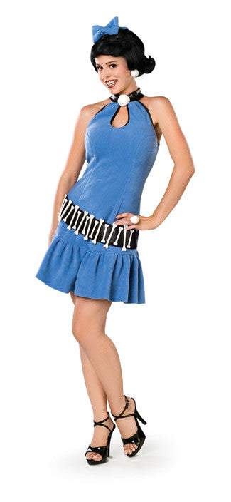 BETTY RUBBLE DELUXE COSTUME, ADULT - SIZE M