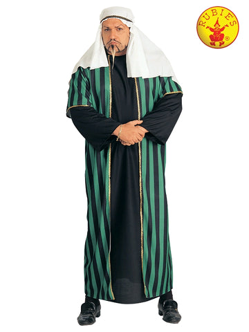 GREEN SHEIKH COSTUME, ADULT - PLUS SIZE