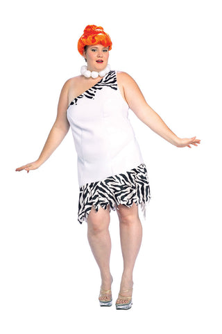 WILMA FLINTSTONE COSTUME, ADULT - SIZE PLUS