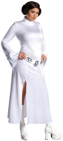 PRINCESS LEIA CLASSIC STAR WARS COSTUME. ADULT - PLUS SIZE