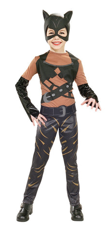 CATWOMAN COSTUME, CHILD - SIZE S